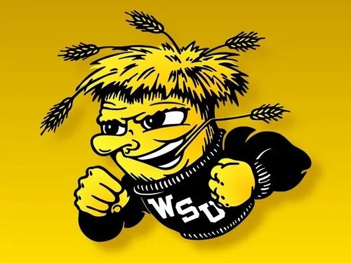 What is a wu-shock? The mascot of the Wichita State University athletic teams, Wu-Shock is an animated shock of wheat wearing a WSU sweater with a stalk of wheat hanging out from between his teeth.