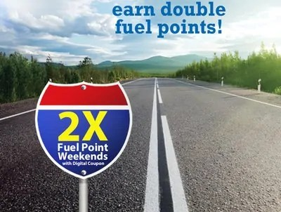 Earn double fuel points with this digital coupon at Dillons