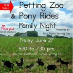 Free pony rides, petting zoo and more at Chick-fil-A west Wichita Family Night