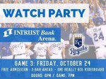 KC Royals World Series Watch Party at INTRUST Bank Arena