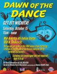 dawn of the dance free zumba group groove lesson from wichita park and recreation