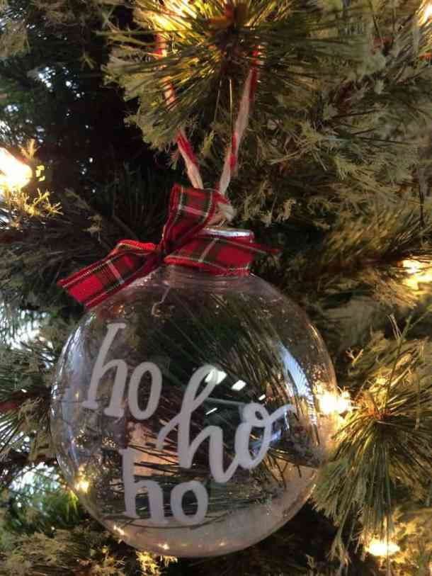 $9 glass ornament by Freely Scripted Designs. This one is mine, but there were more. :)