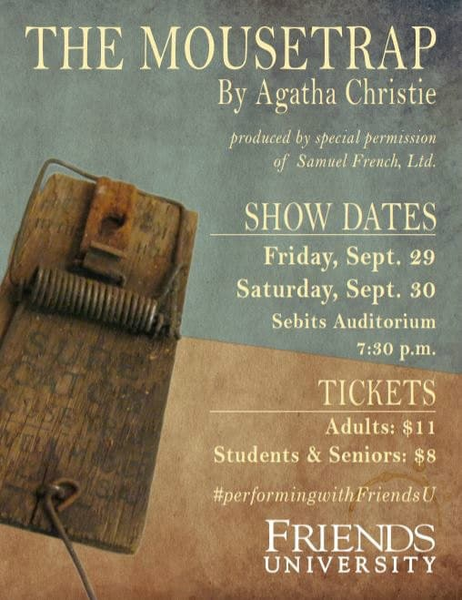 Live Performance Of Agatha Christies The Mousetrap