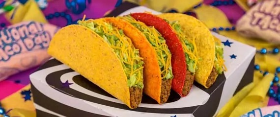 Taco Bell National Taco Day gift box