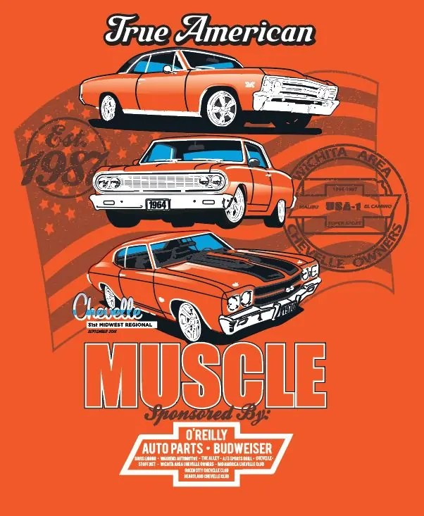 2018 Chevelle car show in Wichita and Veterans Charity Jam at The Alley Indoor Entertainment