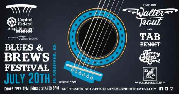 Blues and Brews CapFed Amphitheater Andover summer concert