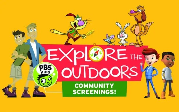 Free screenings flyer - Explore the Outdoors from KPTS and area libraries