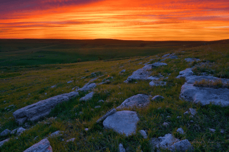 Kansas Flint Hills - a terrific family drive!