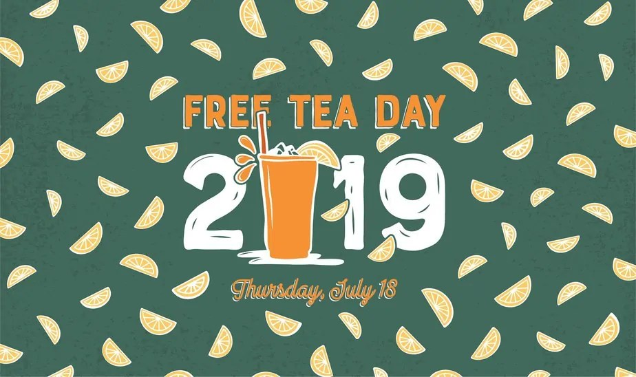 graphic about Mcalister's Coupons Printable named Absolutely free Tea Working day at McAlisters Deli