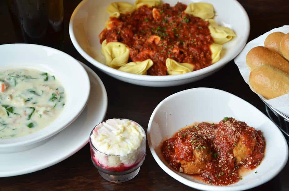 Free Take Home Entree At Olive Garden