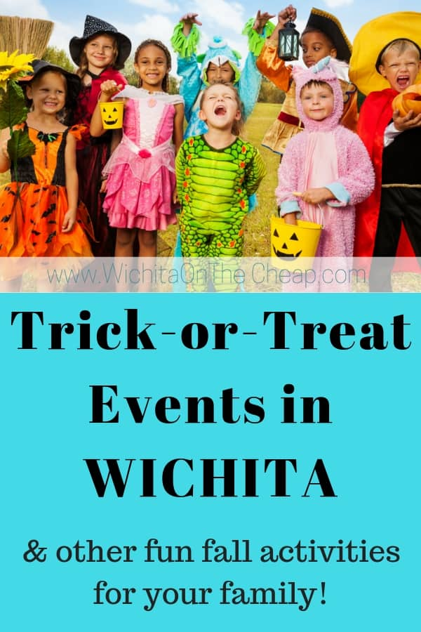 Wichita Trick or Treat Halloween Events for Kids, Families