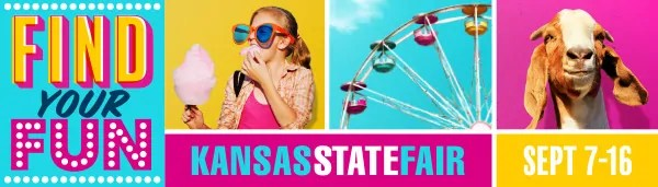 FEE FREE Kansas State Fair concerts - $5 processing fee waived if purchased by May 10