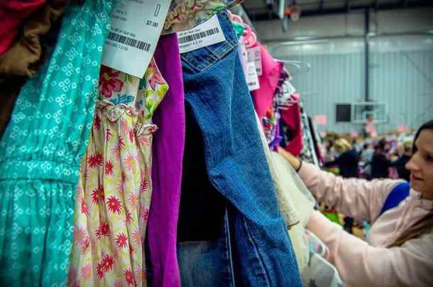 kids clothing back to school consignment sale Kids Closet Connection Wichita sale