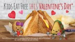 Valentines Day kids eat free 2018 at McAlister's Deli in Wichita
