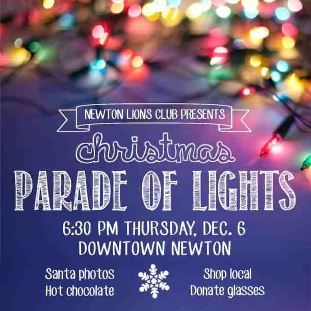 Newton annual Christmas Parade