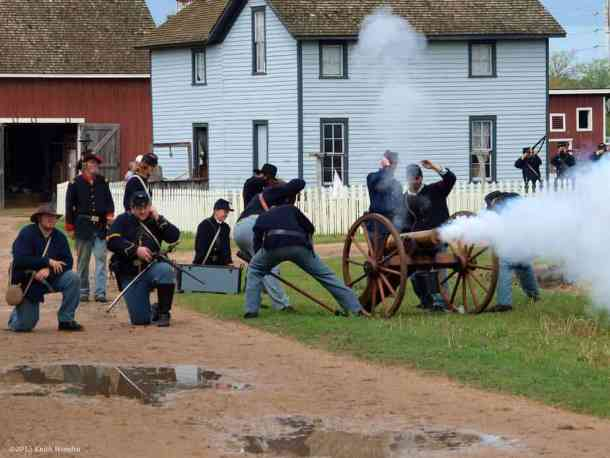 Old Cowtown Museum Civil War Day event