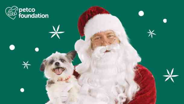 petco pet family pictures with santa