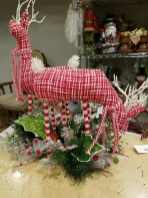 red white stuffed reindeer