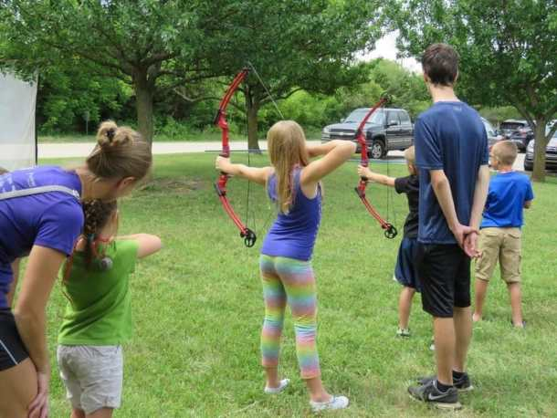 Free Archery Club at Great Plains Nature Center