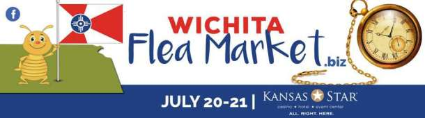 Wichita Flea Market at the Kansas Star Arena July 2019