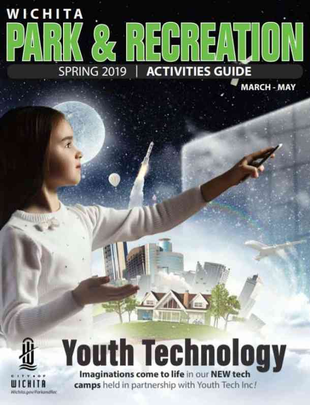 Wichita Park and Rec spring 2019 activities guide cover