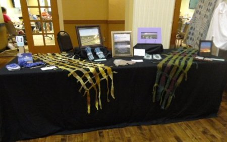 Our Guild's Display Table