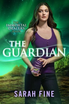 Book Cover - The Guardian (Immortal Dealers #2) by Sarah Fine