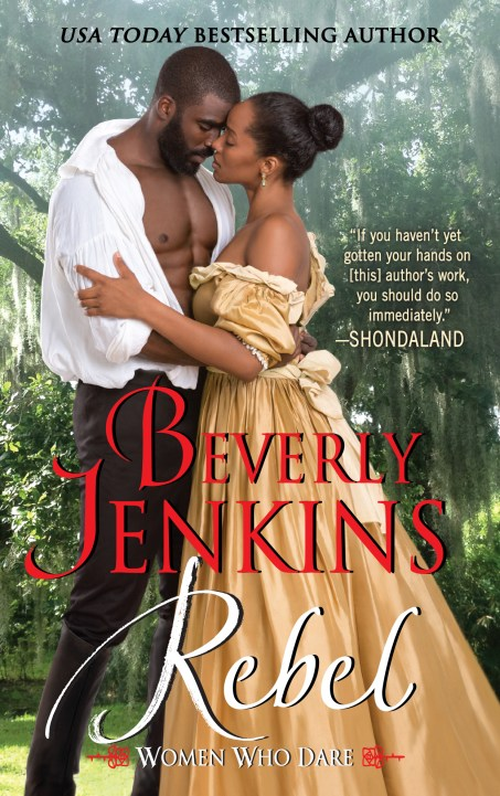 Book Cover - Rebel by Beverly Jenkins
