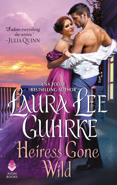 Book Cover - Heiress Gone Wild by Laura Lee Guhrke