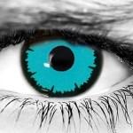 WickedEyez Angelic Blue Halloween Contacts