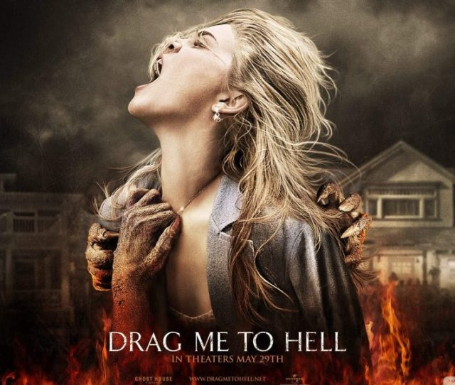 Sam Raimis Drag Me To Hell Is Equal Parts Evil Dead And Thinner Its A Supernatural Romani Revenge Story Told Through Raimis Signature Style