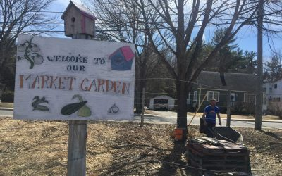It takes The Ville to raise a community: Volunteers put down roots (and lots of compost) for Pay It Forward Community Garden