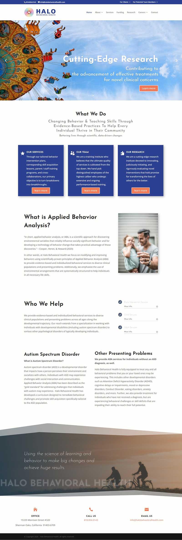 HaloBH homepage