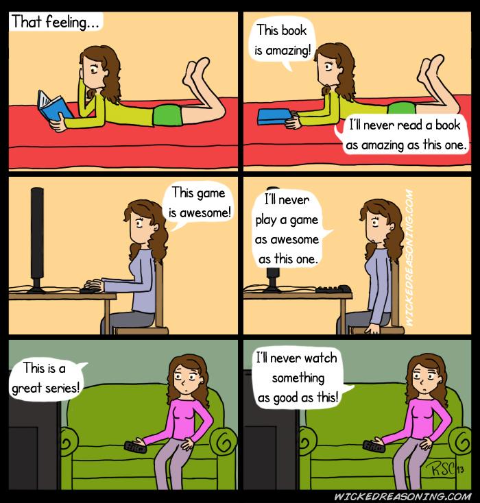 that feeling comic loss