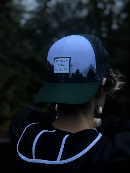 Ultra Running Trucker Hat Be Your Own Culture