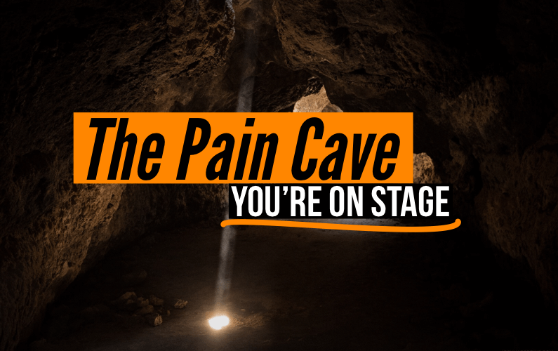 The Pain Cave: You're On Stage