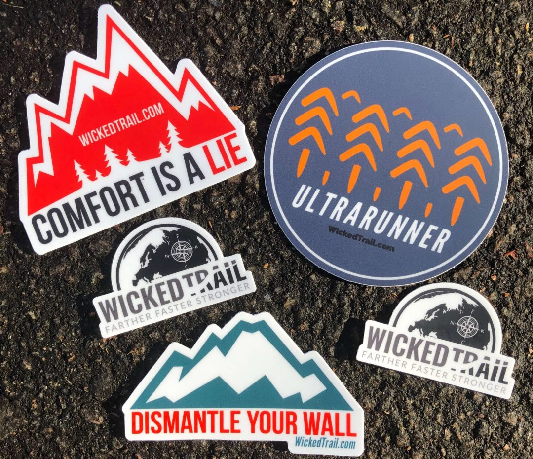 Ultra Marathon Blog | Free Sticker