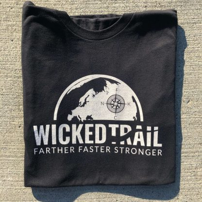 Black Comfort Is A Lie Strength Tee Wicked Trail Gear