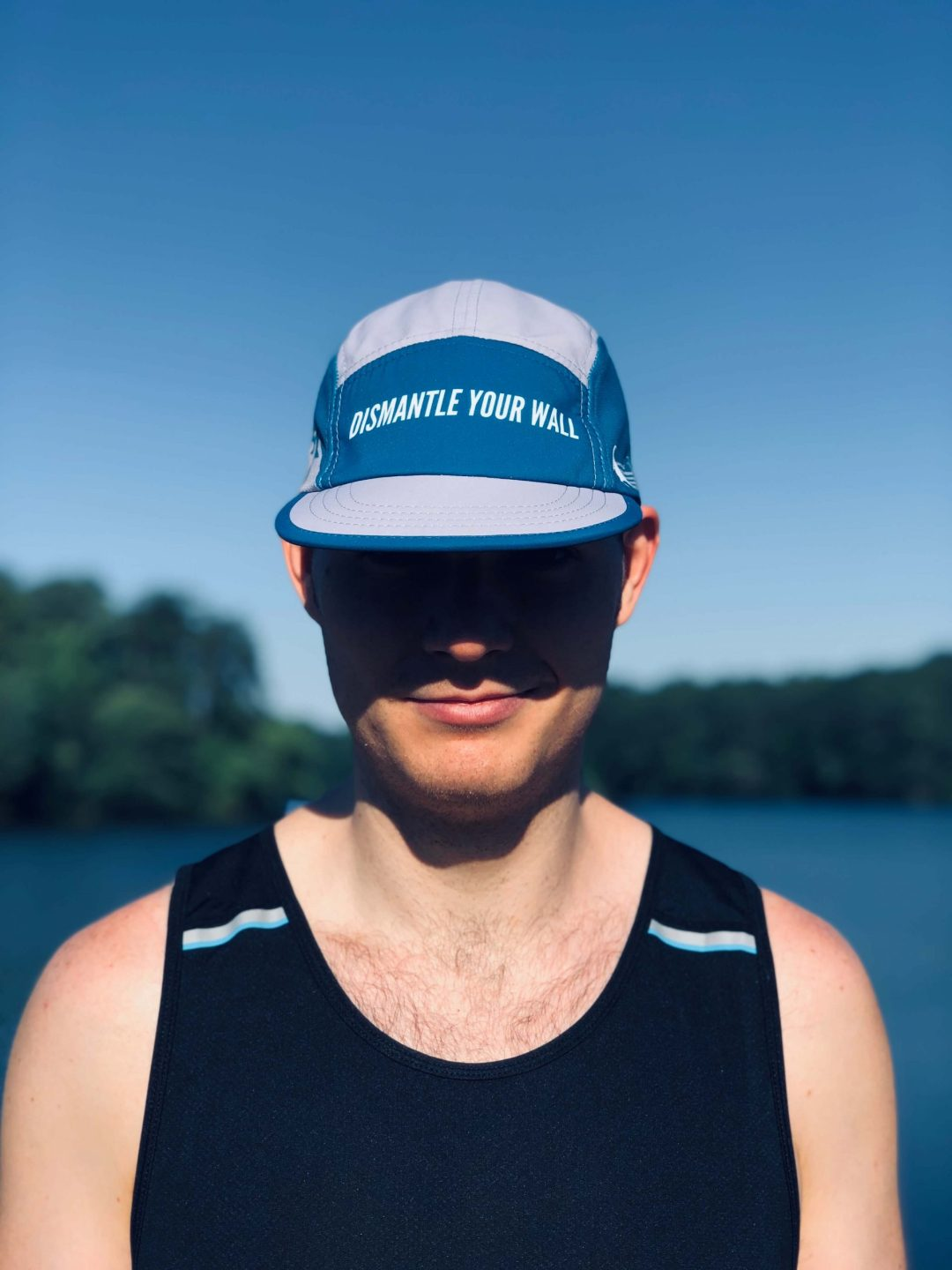 Dismantle Your Wall UltraCap Trail Running Cap
