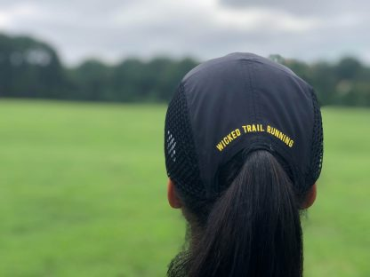Smiley UltraCap ultra runners cap by Wicked Trail