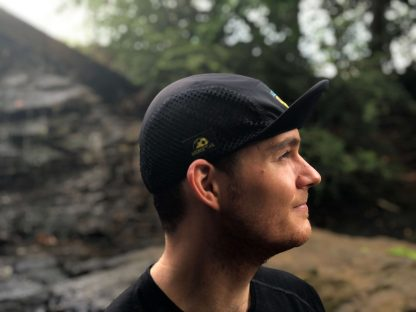 Smiley UltraCap ultrarunning hat by Wicked Trail