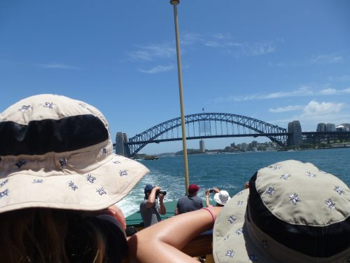 Manly Ferry ride, heading back to Sydney.