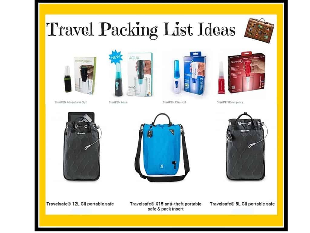 Travel Tips & Packing List Ideas