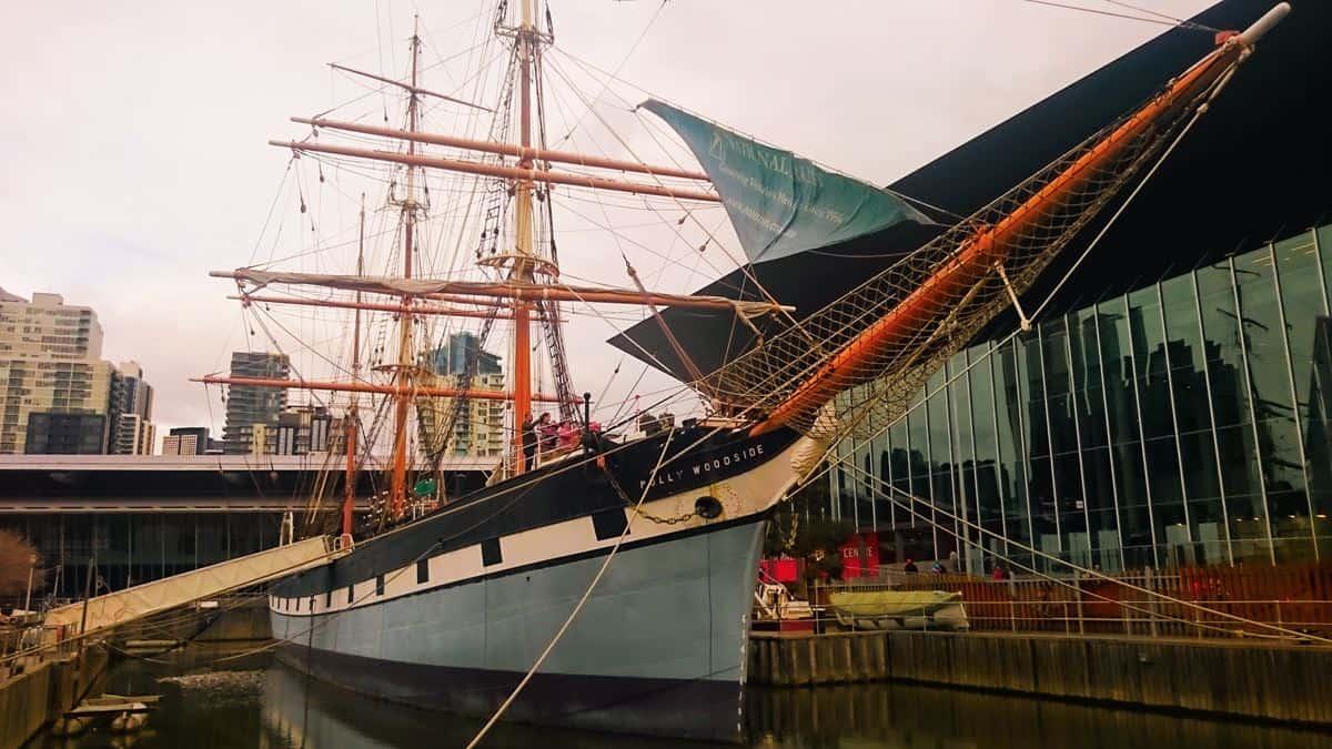 Polly Woodside Sailing ship Melbourne