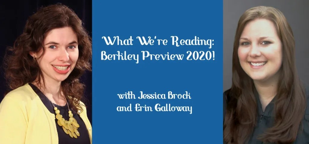 What We're Reading with Jessica Brock and Erin Galloway