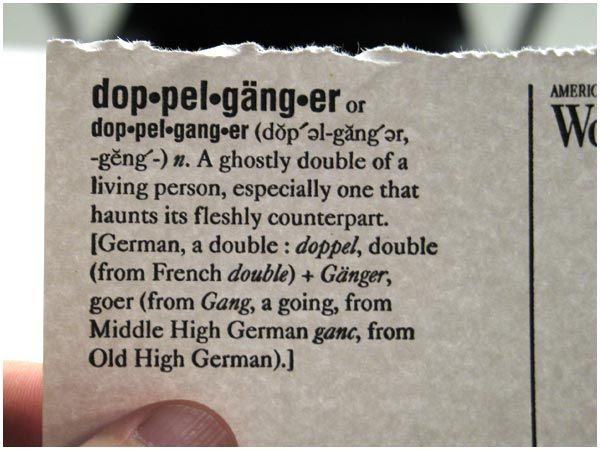 a dictionary explanation of a doppelganger