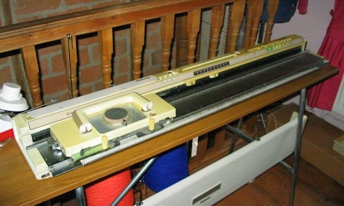 knitmaster550 knitting machine