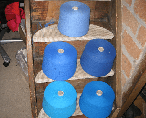 BSK blue yarns