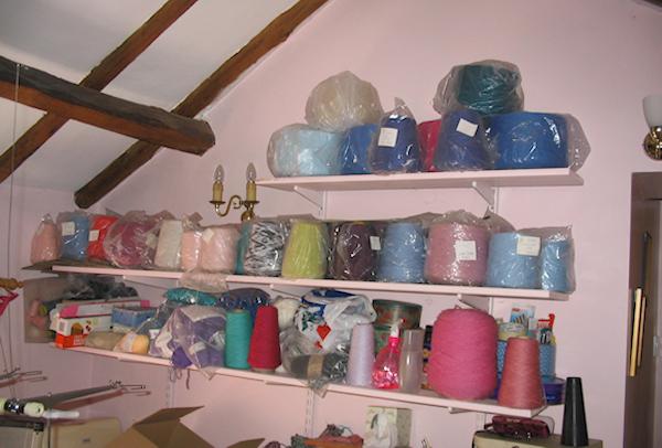 nice yarn stash