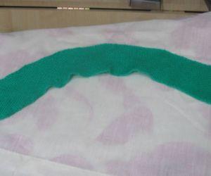 ironed cast-on rag